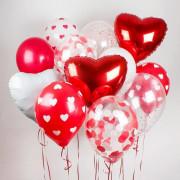 Гелиевые шары на 14 февраля