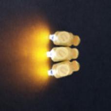 светодиод в шар теплый белый желтый