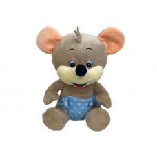 Мышонок в голубых трусиках 25см