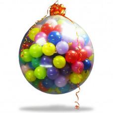 ШАР СЮРПРИЗ 30 шариков + конфетти