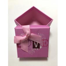 Коробка Розовая Love большая