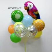 Гелиевые шарики и товары для праздника с животными и растениями праздник в Ялте, фотосессия, оформление праздников воздушными шарами в Ялте, быстрая доставка шариков по Ялте