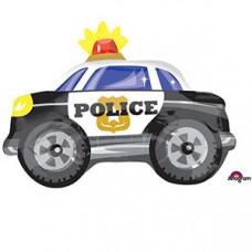 А ФИГУРА/S50 Машина Полиция (50*38 см.) ВЗ гелиевый шарик
