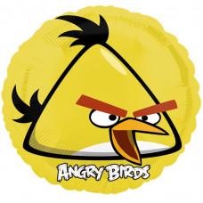 ANGRY BIRDS жёлтый воздушный шарик с гелием