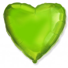 ANAGRAM фольга Сердце Лайм ДБ Воздушные шары с гелием