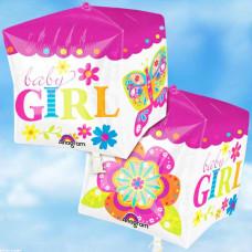 3д шар куб GIRL