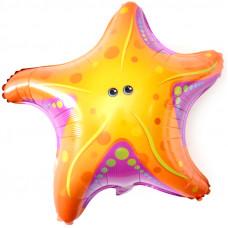 66 см. Фигура, Морская звезда ДБ гелиевый шарик