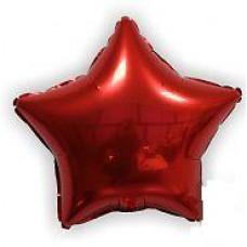 46 см. Звезда красная Испания Flexmetal шарик с гелием