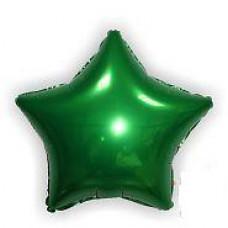 46 см. дюймов Звезда зеленая Испания Flexmetal шарик с гелием