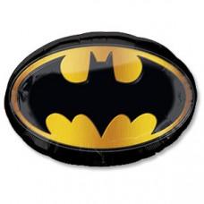 Бэтмен эмблема 89*66 см вз гелиевый шарик