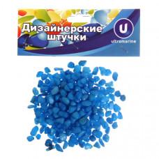 """Камни декоративные """"Радуга"""" 100гр голубые 645-0098"""