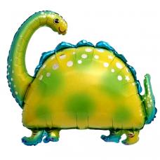 Воздушный шар 91 см. Фигура, Динозавр бронтозавр