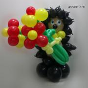 В этой категории вы можете подобрать лучшие композиционные фигуры из воздушных шаров!