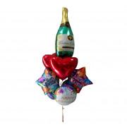 В этой категории представлены фольгированные фигурные шары в виде звезд и сердец,различные фигуры с нанесением печати и без.
