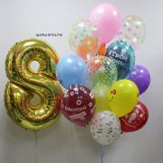 Воздушные шары на день рожденья
