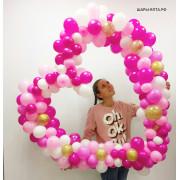 гелиевые шарики в Ялте на свадьбу юбилей заказать доставку воздушных шаров с гелием в магазине Праздник рядом купить украшения на свадьбу и авто