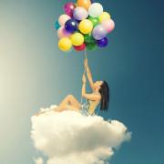 Гелиевые шары и композиции из воздушных шаров для женщин